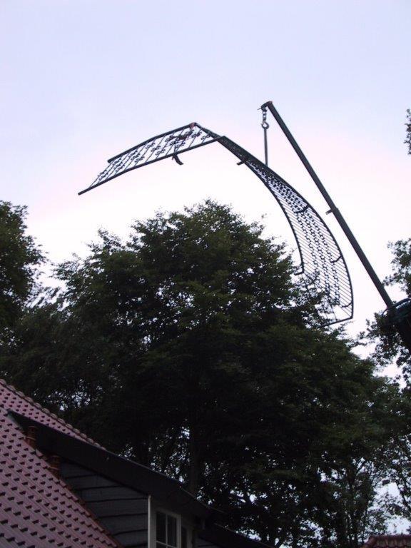 Balkonhek, ook in bijzondere vorm